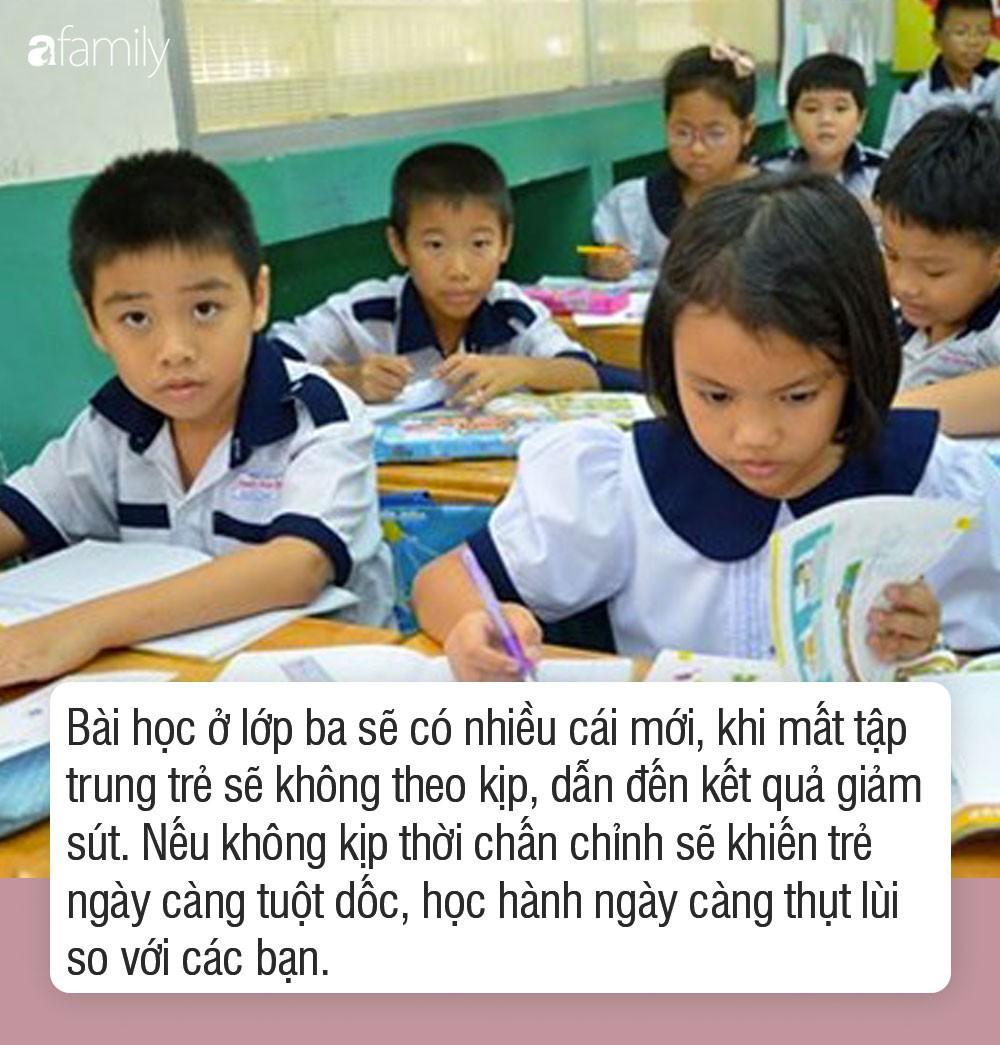 Hiệu ứng năm thứ 3 và tác hại của việc cho con học chữ trước khi vào lớp 1 - Ảnh 2