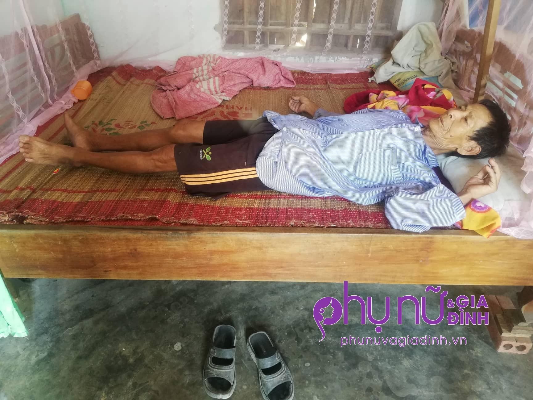 Xót xa: Cụ bà chấp nhận mù lòa để nhường sự sống cho chồng mắc bệnh hiểm nghèo - Ảnh 3