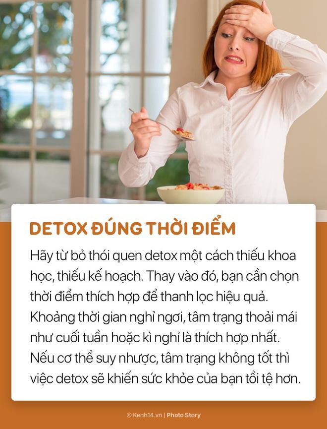 Muốn detox hiệu quả luôn phải nhớ những lưu ý này! - Ảnh 2