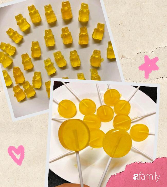 Tự tay làm kẹo ngon đẹp trong veo cho con với 2 công thức cực nhanh gọn - Ảnh 7
