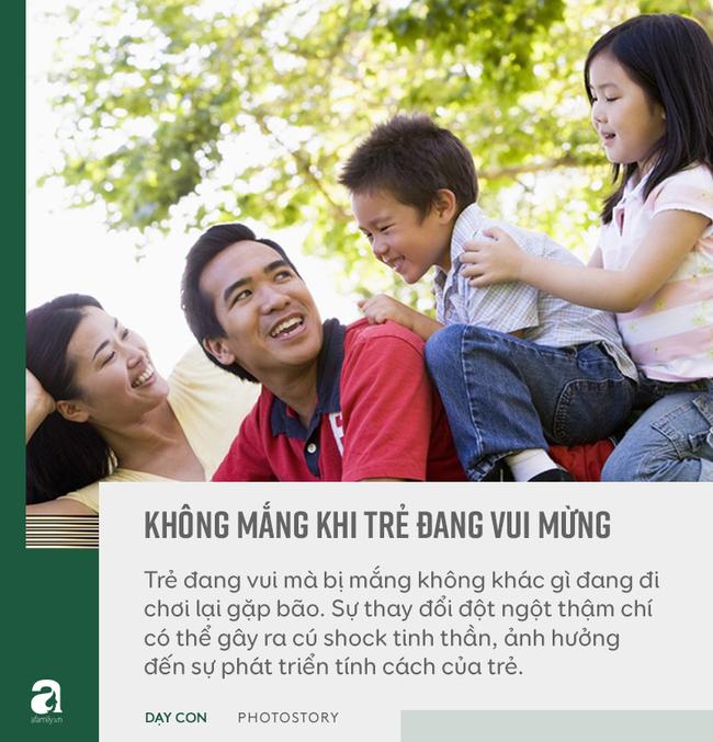 """Đừng bỏ qua quan điểm """"5 không trách, 6 không mắng"""" khi con phạm lỗi, đây mới là bí quyết bố mẹ dạy con khéo - Ảnh 10"""