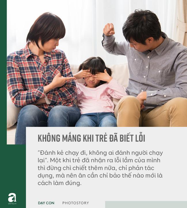 """Đừng bỏ qua quan điểm """"5 không trách, 6 không mắng"""" khi con phạm lỗi, đây mới là bí quyết bố mẹ dạy con khéo - Ảnh 11"""