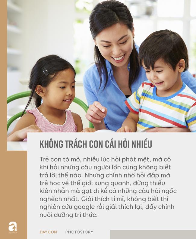 """Đừng bỏ qua quan điểm """"5 không trách, 6 không mắng"""" khi con phạm lỗi, đây mới là bí quyết bố mẹ dạy con khéo - Ảnh 5"""