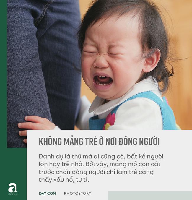 """Đừng bỏ qua quan điểm """"5 không trách, 6 không mắng"""" khi con phạm lỗi, đây mới là bí quyết bố mẹ dạy con khéo - Ảnh 8"""