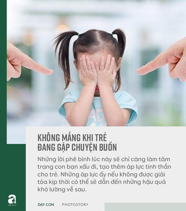 """Đừng bỏ qua quan điểm """"5 không trách, 6 không mắng"""" khi con phạm lỗi, đây mới là bí quyết bố mẹ dạy con khéo - Ảnh 9"""
