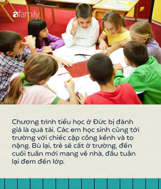 Những điều thú vị về giáo dục tiểu học Đức: Áp lực ngay từ khi vào lớp 1 nhưng bài tập về nhà không được quá 15 phút - Ảnh 2