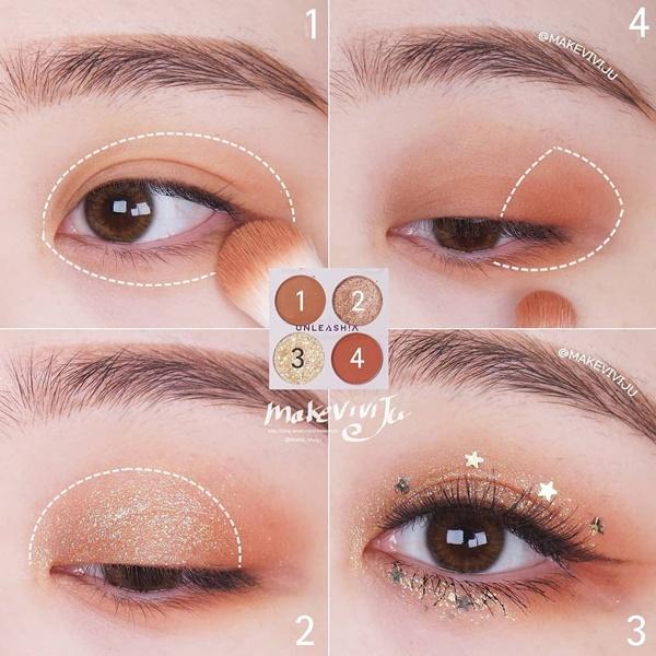 2 tuyệt chiêu trang điểm đôi mắt long lanh của hotgirl Hàn chuẩn bị đón năm mới - Ảnh 8