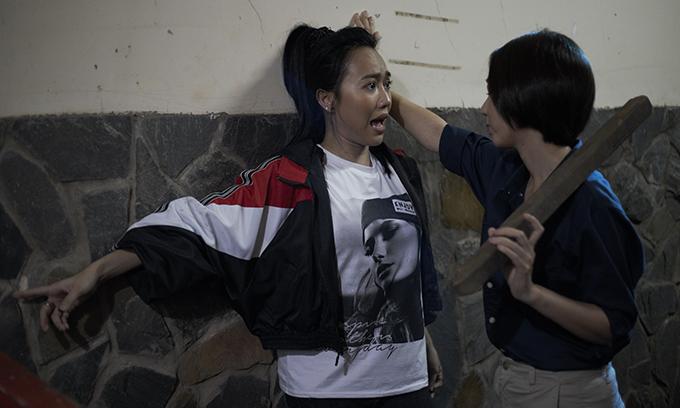 Diệu Nhi khóc thét khi Thu Trang 'tung chưởng' - Ảnh 2