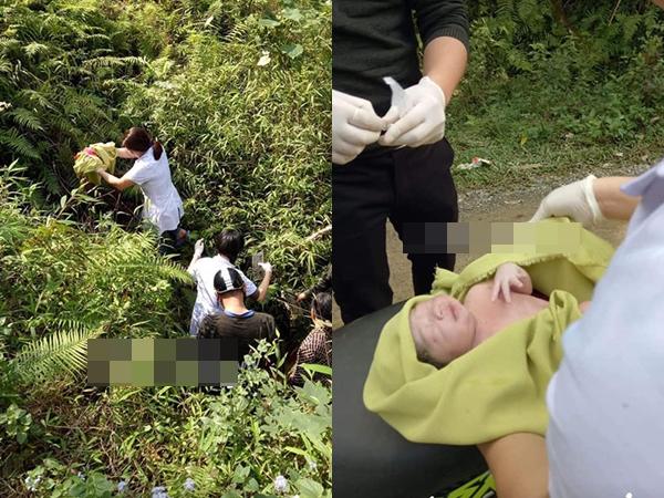 Chiều 26 Tết, bác sĩ đỡ đẻ thành công cho thai phụ bị rơi xuống khe núi sâu 10 mét - Ảnh 1