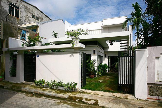 Nhà 2 tầng siêu đẹp, thiết kế hiện đại nhưng đượm hồn quê - Ảnh 1