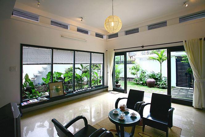 Nhà 2 tầng siêu đẹp, thiết kế hiện đại nhưng đượm hồn quê - Ảnh 5