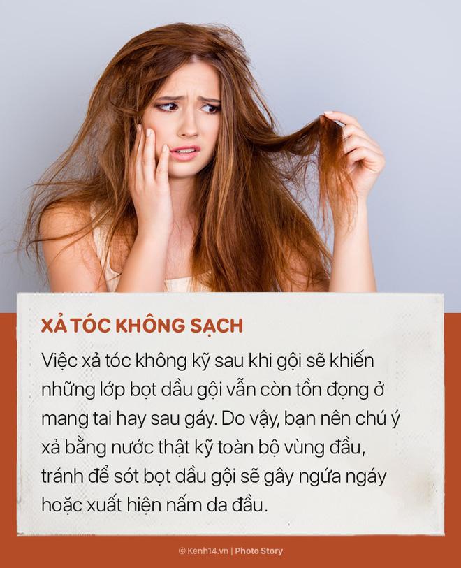 Tóc sẽ vẫn cứ bết và nhiều gàu nếu bạn không hạn chế ngay những sai lầm này khi gội đầu - Ảnh 4