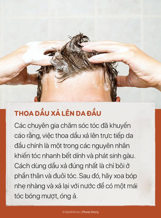 Tóc sẽ vẫn cứ bết và nhiều gàu nếu bạn không hạn chế ngay những sai lầm này khi gội đầu - Ảnh 5