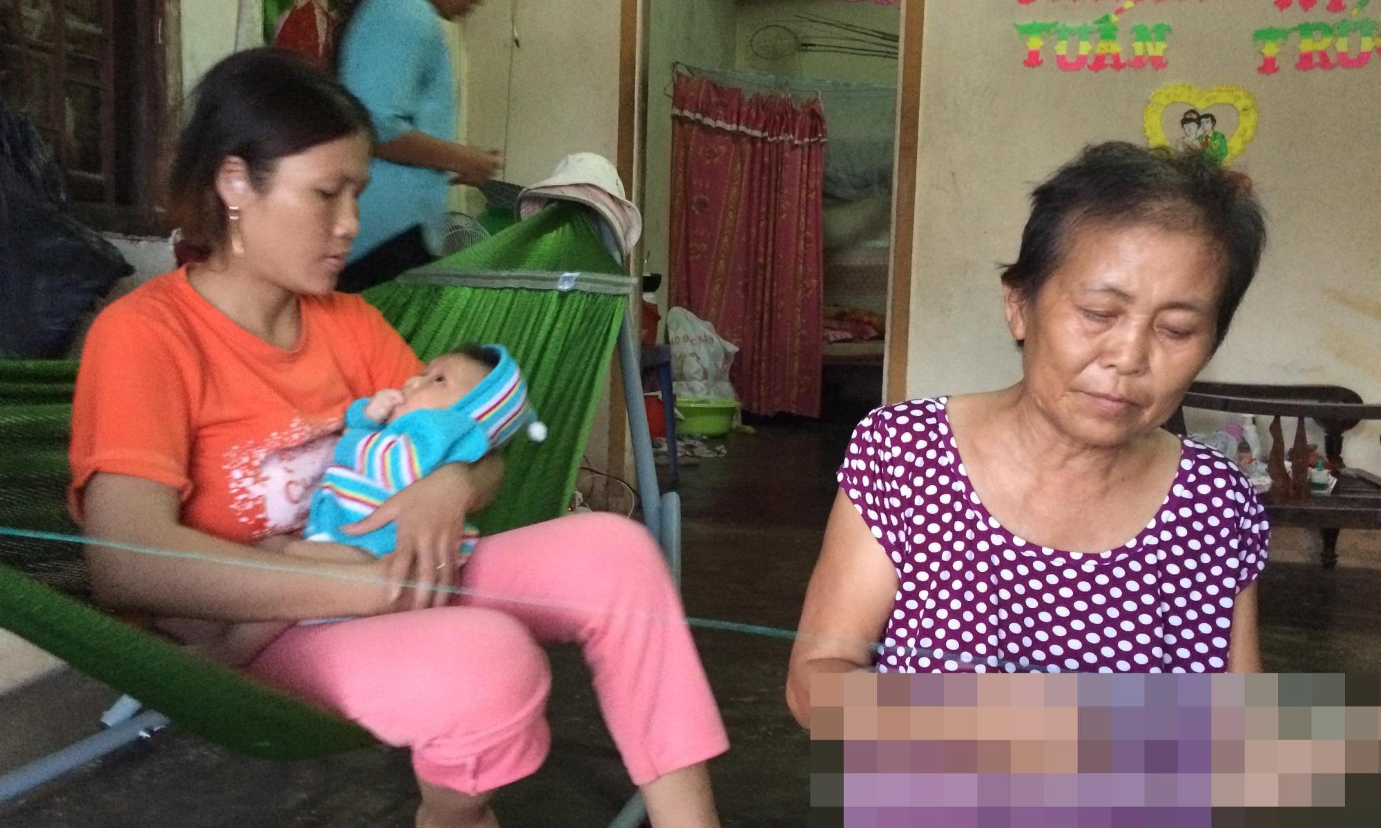 Vụ mẹ chôn sống con: Bà ngoại kể lại giây phút bới đất cứu cháu - Ảnh 1