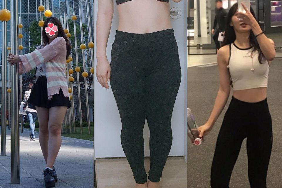 Cô gái Hàn Quốc gây bất ngờ với màn Before - After quá đỉnh, giảm tới 12kg và lột xác hoàn toàn - Ảnh 2