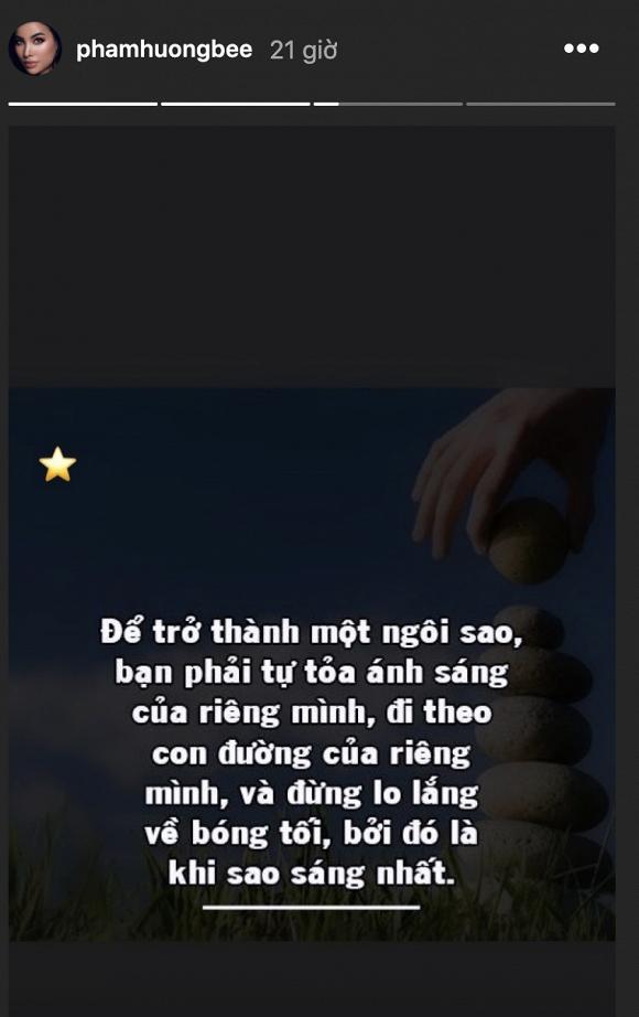Phạm Hương cảm thán: 'Đã là sao, đừng sợ bóng tối' - Ảnh 1
