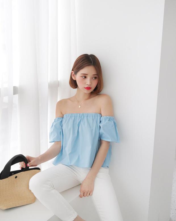 """4 mẫu áo blouse chống chỉ định chị em diện đi làm bởi kiểu thì hở hang quá, kiểu thì """"bô nhếch"""" kém sang - Ảnh 4"""