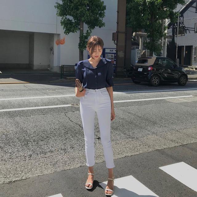 Street style Châu Á: 12 set đồ đơn giản nhưng nhìn nàng nào cũng 'lên hương' nhờ loạt bí quyết hay - Ảnh 4