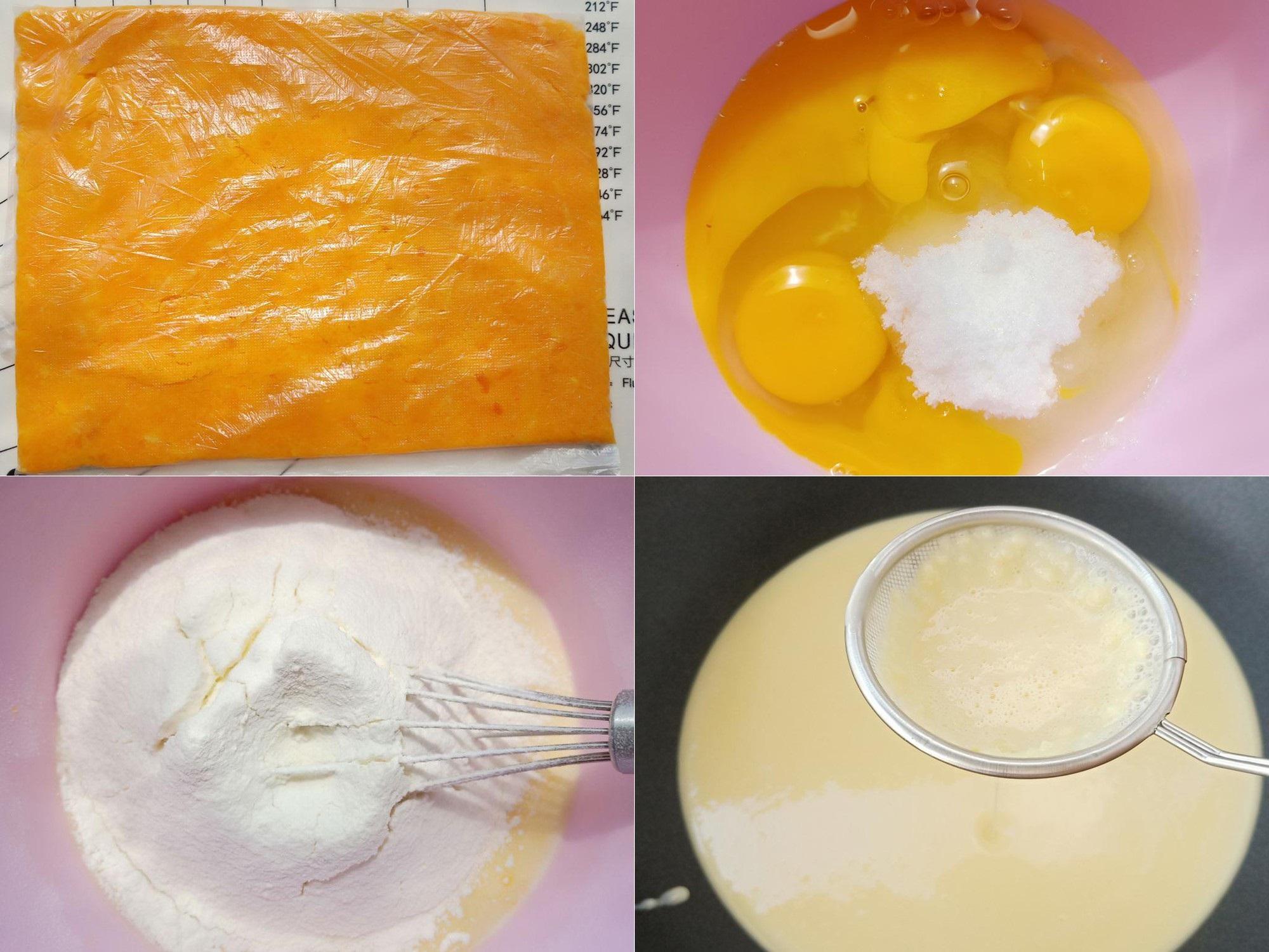 """Khỏi tốn """"núi tiền"""" khi bạn tự làm món bánh Trung Thu kem trứng muối đang siêu hot này một cách rất dễ dàng - Ảnh 1"""