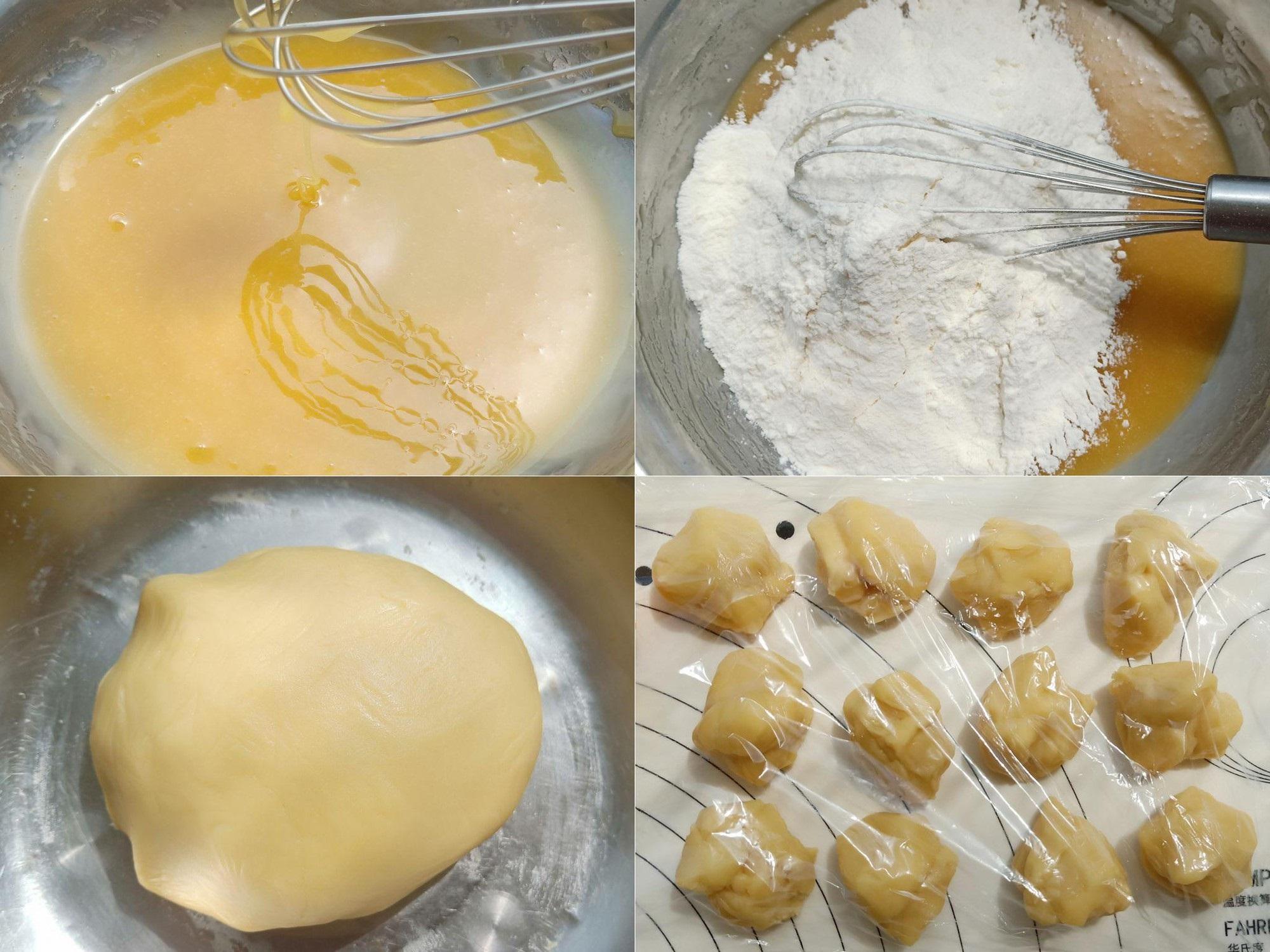 """Khỏi tốn """"núi tiền"""" khi bạn tự làm món bánh Trung Thu kem trứng muối đang siêu hot này một cách rất dễ dàng - Ảnh 3"""