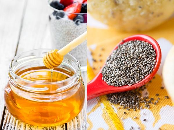 Lấy một ít hạt chia trộn đều với mật ong uống mỗi sáng, cơ thể nhận lấy những lợi ích không ngờ - Ảnh 1
