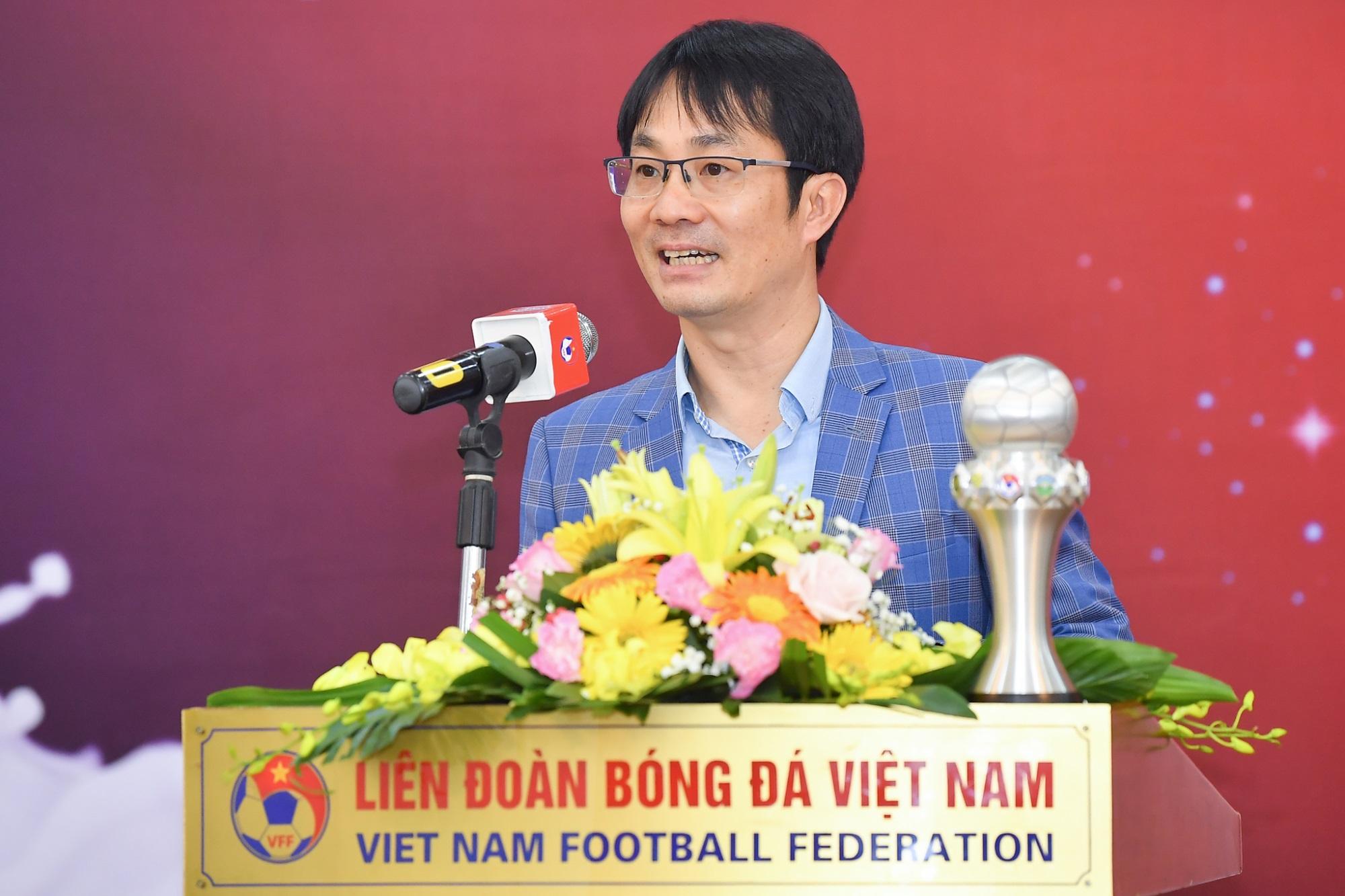 Vinamilk trao thưởng chúc mừng đội tuyển bóng đá nữ quốc gia vô địch Đông Nam Á 2019 - Ảnh 6