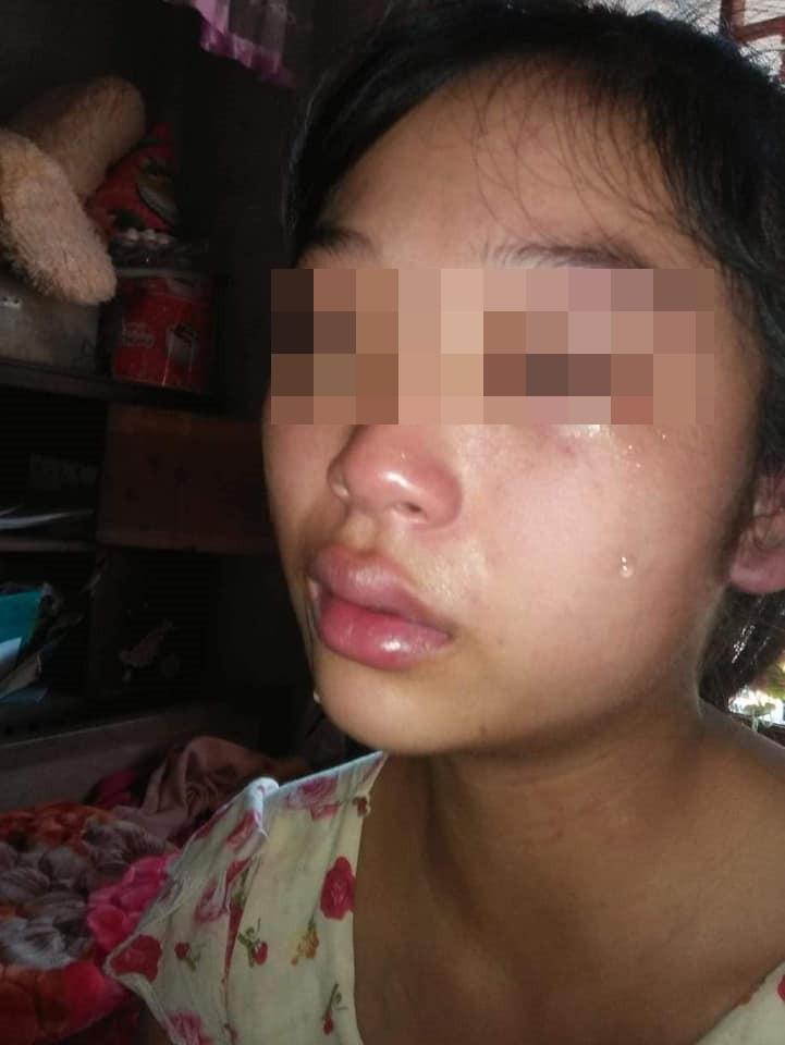 Vợ 16 tuổi lên mạng tố chồng đánh đập, siết cổ, đuổi ra khỏi nhà khi mới sinh con được 1 tháng - Ảnh 3