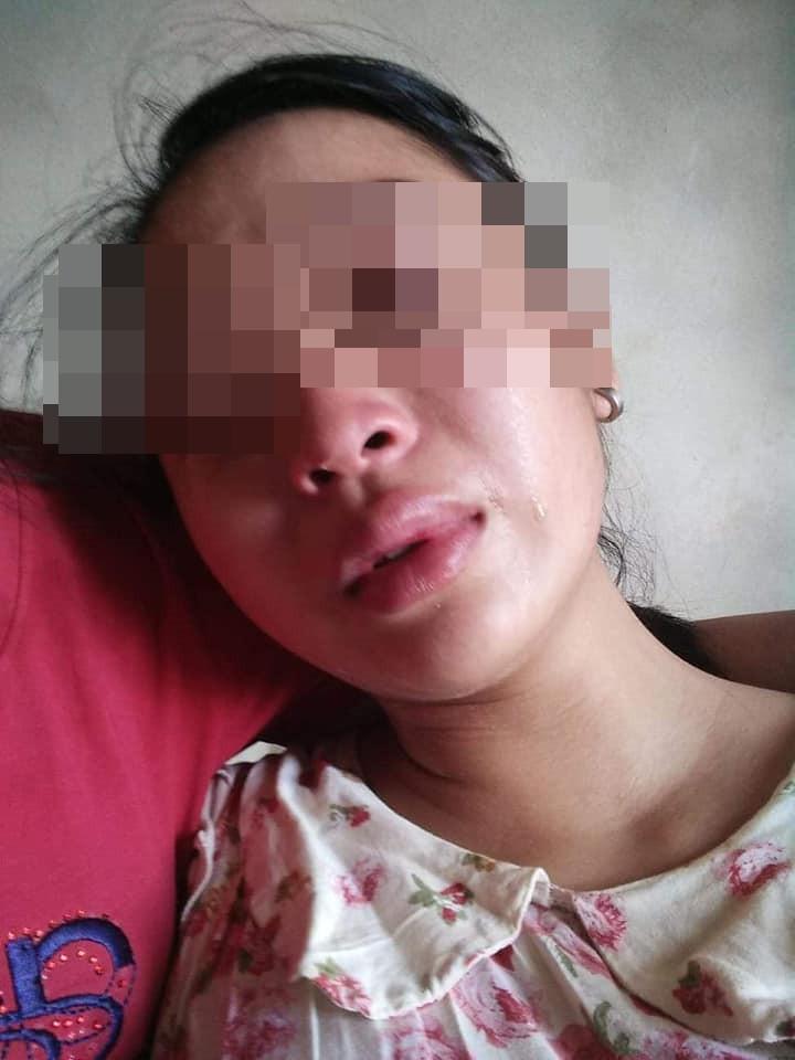 Vợ 16 tuổi lên mạng tố chồng đánh đập, siết cổ, đuổi ra khỏi nhà khi mới sinh con được 1 tháng - Ảnh 4