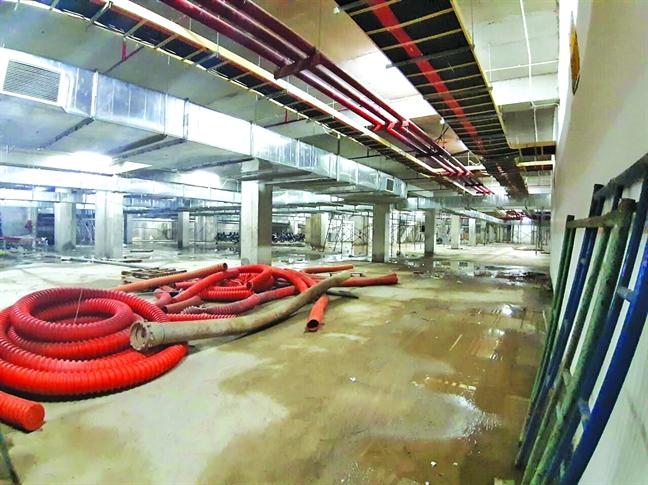 Dự án 35 Hồ Học Lãm xây chưa xong đã ép dân vào ở - Ảnh 5