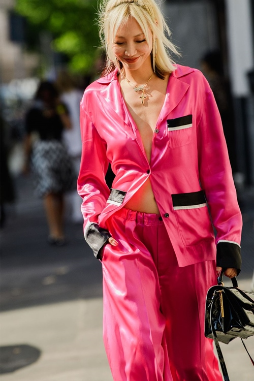 Quy tắc mặc màu hồng không sến cũng chẳng bánh bèo - Ảnh 2
