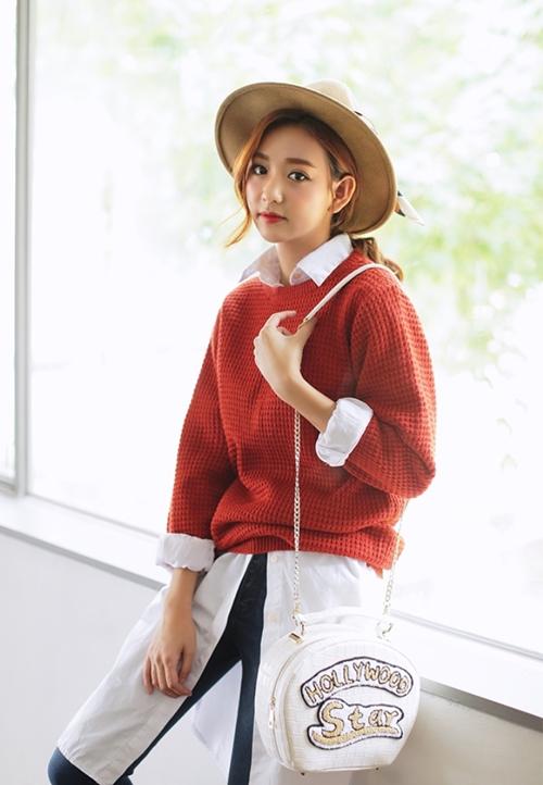 5 kiểu mặc layer với áo len để nàng công sở vừa ấm vừa xinh - Ảnh 3