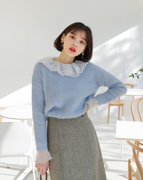 5 kiểu mặc layer với áo len để nàng công sở vừa ấm vừa xinh - Ảnh 4