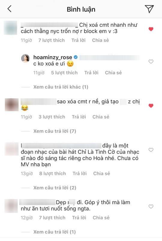 Hòa Minzy gây tranh cãi vì quá gay gắt trước lời khuyên chân thành của fan - Ảnh 4