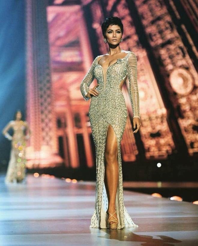 H'Hen Niê trượt top 5 'Hoa hậu của các Hoa hậu' 2018 - Ảnh 6