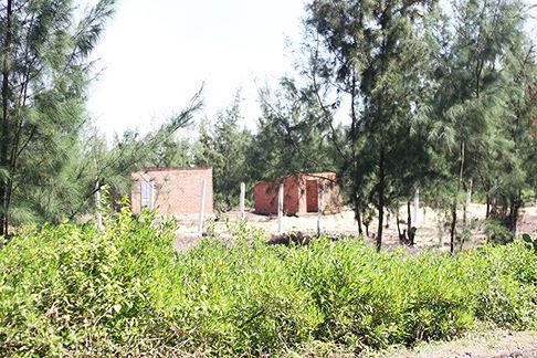 Cưỡng chế tháo dỡ các công trình trái phép tại khu kinh tế Nhơn Hội - Ảnh 2