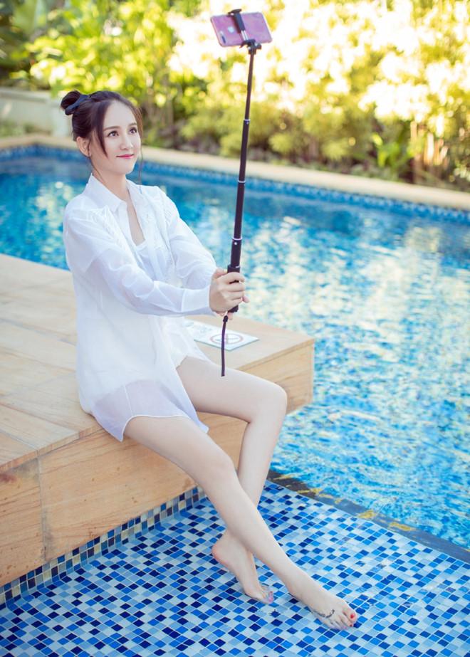 'Đông Phương Bất Bại' Trần Kiều Ân tuổi 40 trẻ đẹp như thời đôi mươi - Ảnh 7