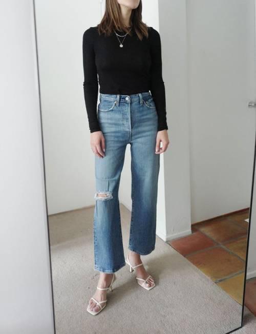 Những mẫu quần jean hot nhất mùa hè 2019, là phụ nữ nhất định phải sở hữu ít nhất 1 chiếc - Ảnh 7