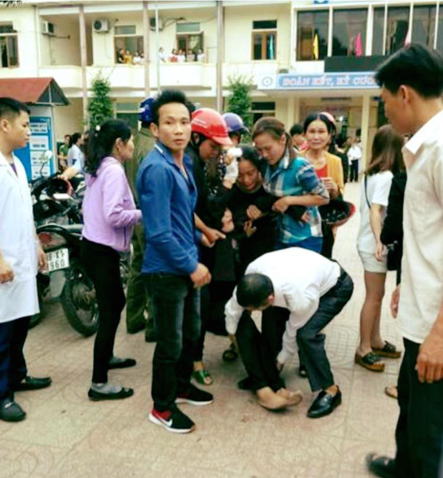 Vụ chồng sát hại vợ tại bệnh viện ở Hà Tĩnh: Xót xa cảnh con nhỏ bơ vơ - Ảnh 2