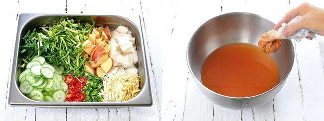 Học cách làm món dưa góp kiểu Hàn, ăn với gì cũng ngon - Ảnh 2