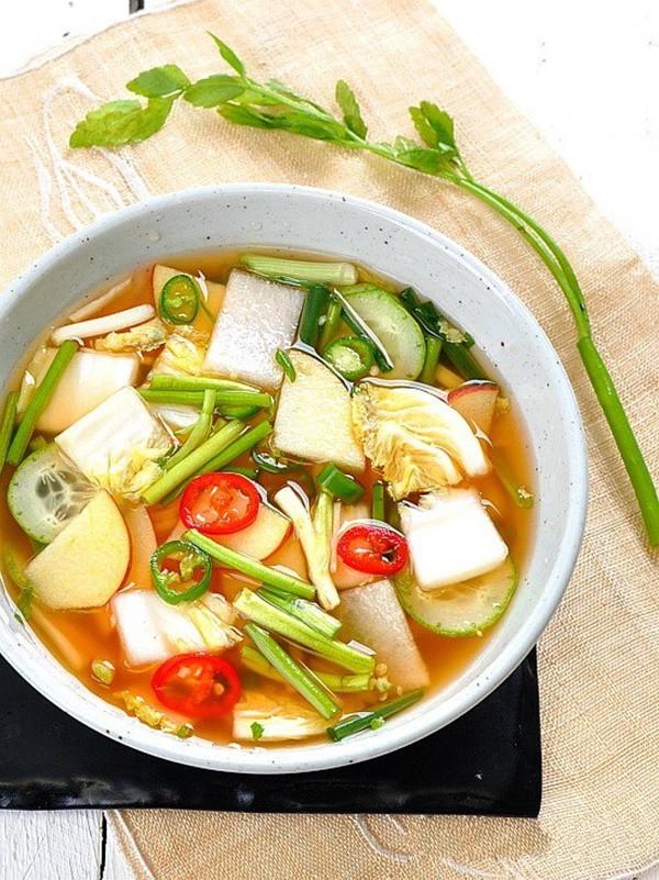 Học cách làm món dưa góp kiểu Hàn, ăn với gì cũng ngon - Ảnh 4