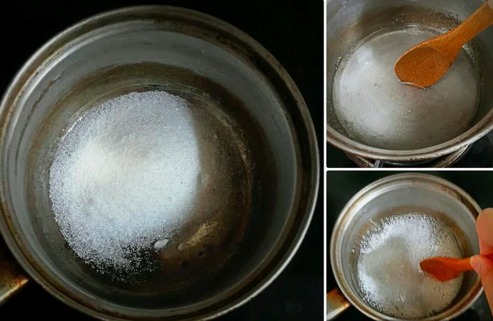 Bánh mì ngào đường caramel giòn rụm cực ngon ăn vặt hay ăn sáng đều hết nấc - Ảnh 4
