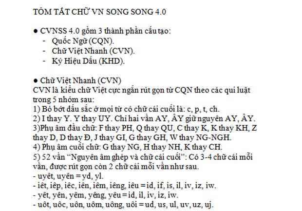 """Bị phản đối kịch liệt, tác giả """"Chữ Việt Nam song song 4.0"""" lên tiếng: Chỉ mất 3 buổi học là thành thạo kiểu chữ mới này - Ảnh 6"""