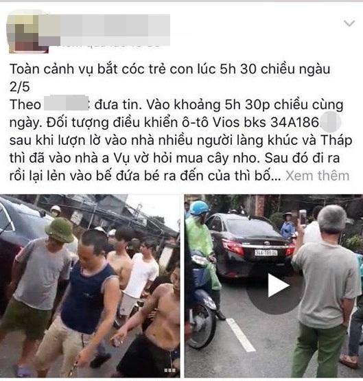 Người đàn ông ăn mặc sang trọng bị dân vây đánh: Nghi bắt cóc trẻ em - Ảnh 1