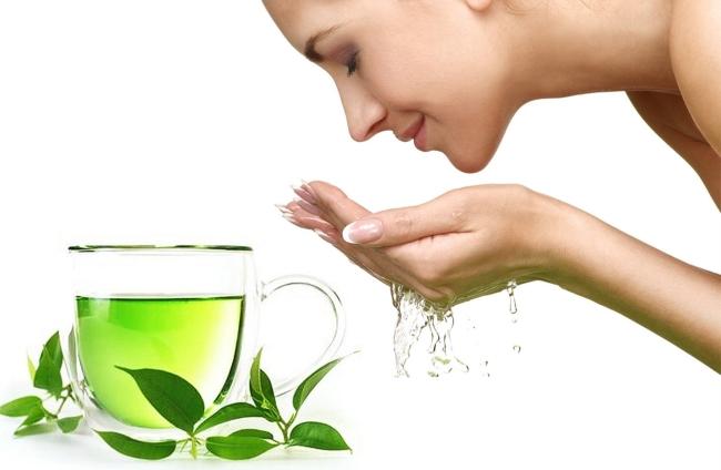 Mặt nạ trà xanh thích hợp cho phụ nữ U30 - Ảnh 1