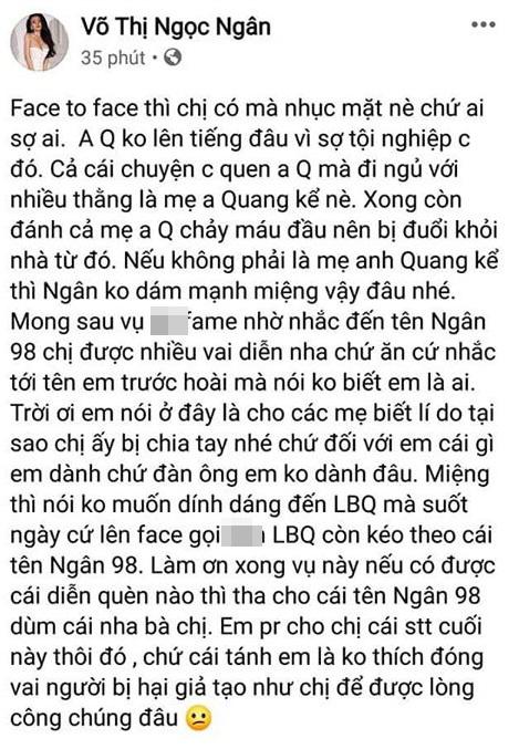 Yaya Trương Nhi tuyên bố sẽ khởi kiện Ngân 98 vì xúc phạm, vu khống cô liên quan tới vụ Lương Bằng Quang bị đánh giữa đường - Ảnh 3
