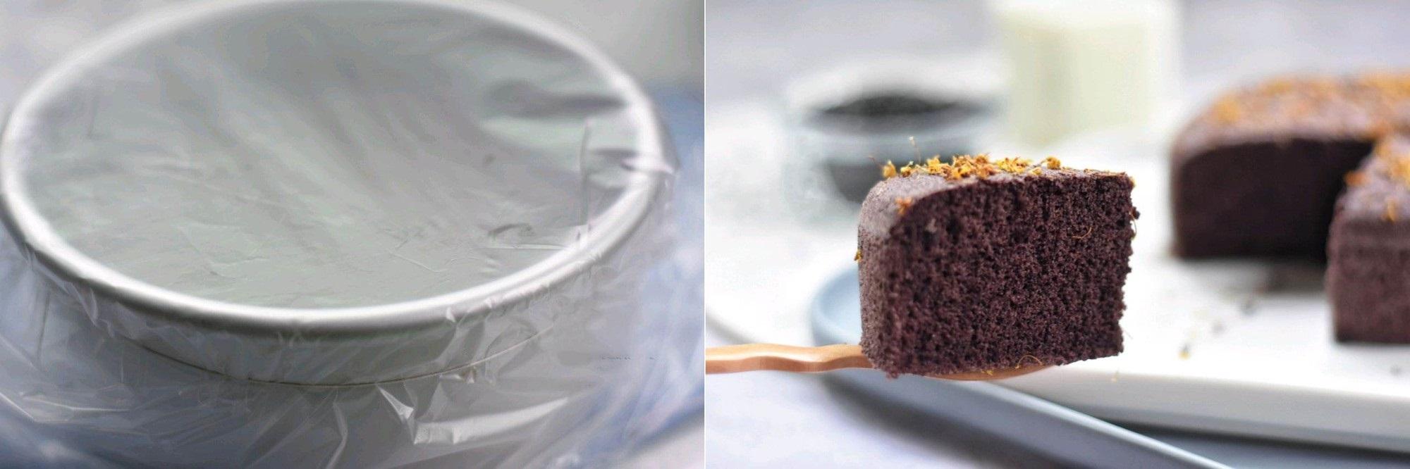 Không cần lò nướng vẫn làm được bánh nếp cẩm xốp mềm thơm ngon - Ảnh 3