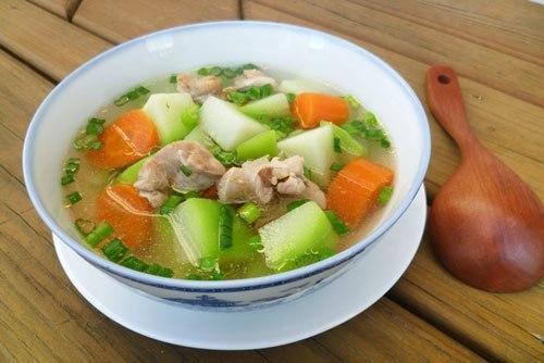 Giảm cân nhanh với món súp rau củ cho bữa tối - Ảnh 1