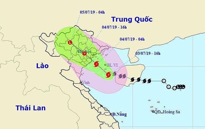 Bão số 2 đã đổ bộ vào Hải Phòng-Nam Định với gió giật cấp 11 - Ảnh 2