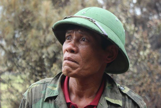 Người đàn ông đặc biệt trong vụ cháy rừng kinh hoàng ở Hà Tĩnh - Ảnh 1