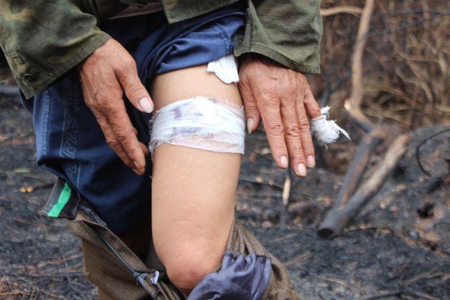 Người đàn ông đặc biệt trong vụ cháy rừng kinh hoàng ở Hà Tĩnh - Ảnh 5